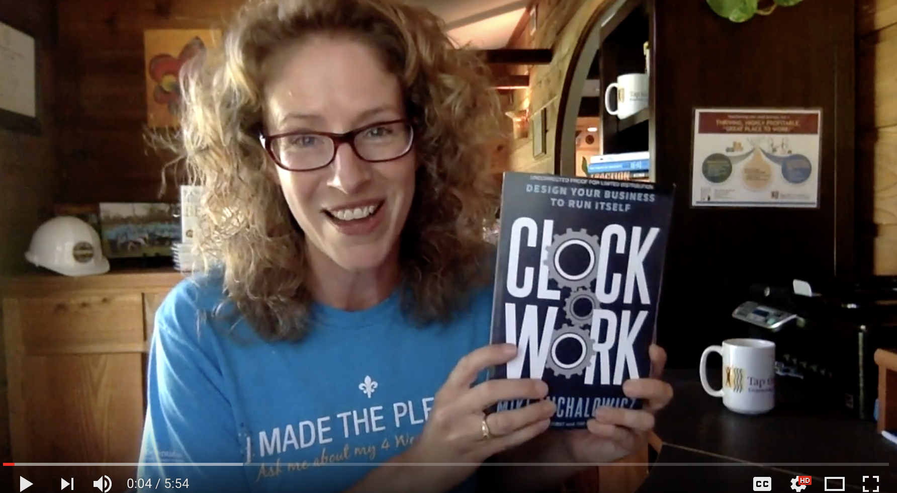 Dr  Sabrina Reviews Clockwork with 4 Week Vacation Tips
